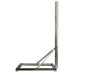 Balkonständer Stahl, 100cm für Platte 50x50cm